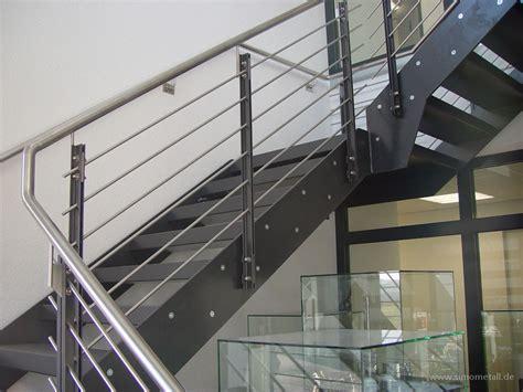 treppengeländer stahl schwarz metall treppengel 228 nder m 246 belideen