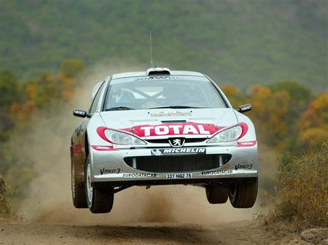 peugeot 206 rally the nine greatest peugeot race rally cars of all time