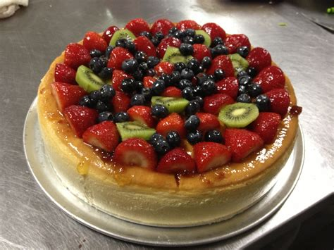 Fruit Cheese Cake charleston bakery and deli cakes to go