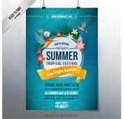 Affiche Du Festival Tropical Et&233  T&233l&233charger Des