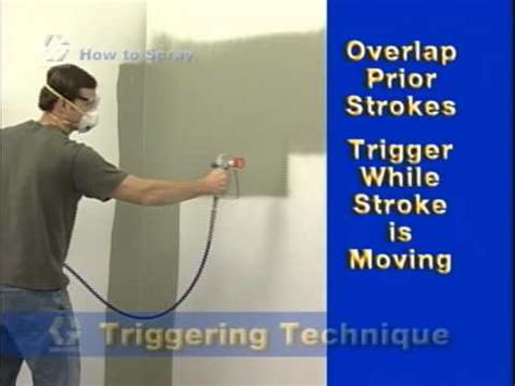 Paint Sprayer For Interior Walls by How To Spray Helpful Tips Before Using Your Paint Sprayer