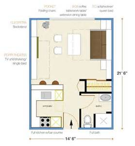300 sq ft house floor plan how to furnish a 300 sf apartment for new york fill it