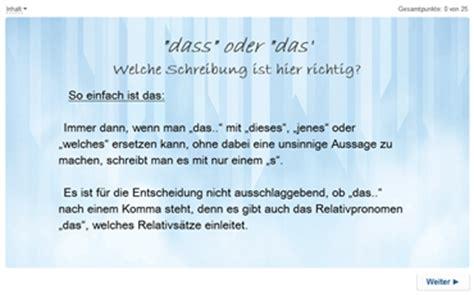 wann dass oder das grammatische regeln www deutschfoerdern de