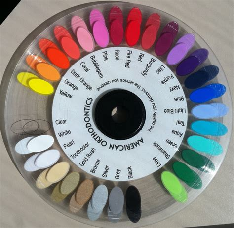 braces colors wheel sawgrass ortho