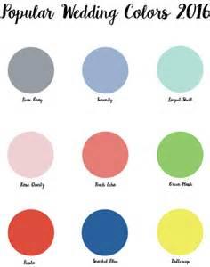 Popular wedding colors for 2016 myideasbedroom com