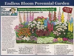 Planning A Flower Garden Layout Perennial Bed Plan From Michigan Bulb Co West Garden Yard Bed Plans