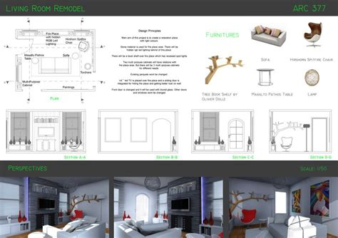 Interior Design Presentation Board Interior Design Interior Design Presentation Board Layout