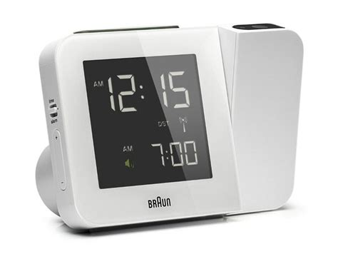 Projection Digital Clock digital tilt projection alarm clock is a companion in