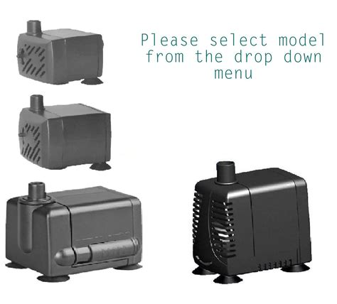 hidom ap 300 200 l h submersible aquarium pump or small