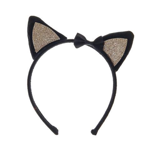 St Cat Kid black cat ears headband s us