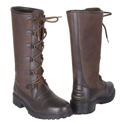 toggi boots for toggi aspen country boots womens bitter chocolate