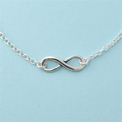 infinity jewelers silver infinity necklace everyday necklace infinity