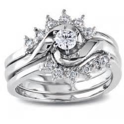 wedding ring set designs royal crown design trio wedding ring set for in white