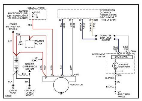 2001 ford focus wiring diagram 2001 ford focus alternator wiring diagram wiring diagram