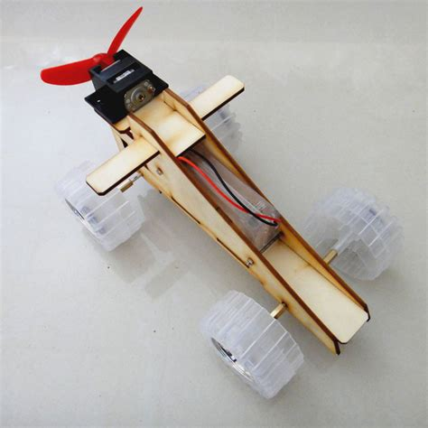 Handmade Science Models - small wind technology assembled car models produced