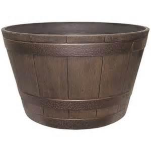 southern patio sales barrel planter walmart