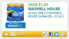 Win A House Sweepstakes Brand New Coupon 1 00 Off On Any One 1 Maxwell House