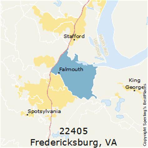best places to live in fredericksburg (zip 22405), virginia