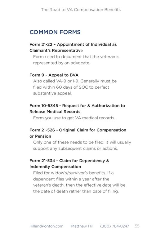 Support Letter For Va Disability the road to va compensation benefits