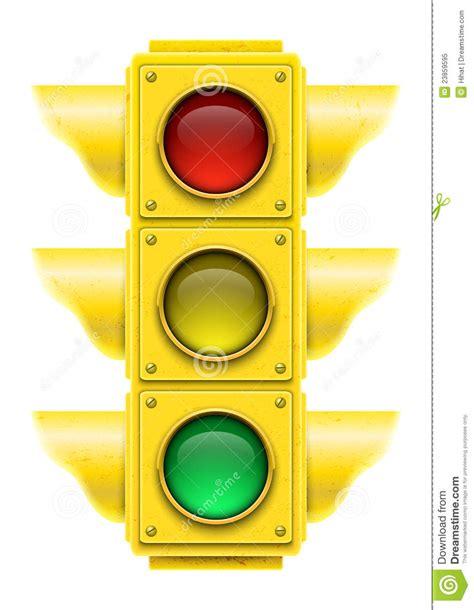 clipart semaforo semaforo realistico illustrazione vettoriale
