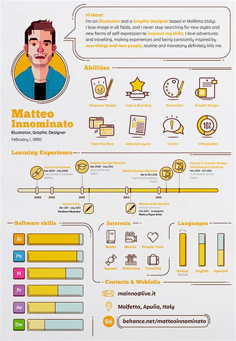 Creative Resume Ideas by 50 Simple Creative Resume Cv Design Ideas Exles