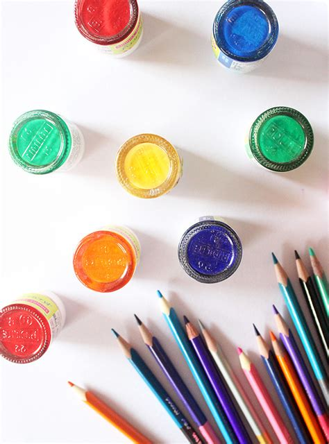 color craft for rainbow color craft ideas for the craftables