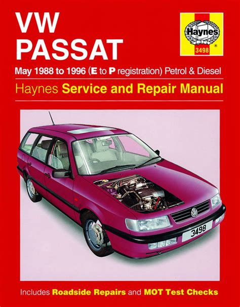 car manuals free online 1988 volkswagen passat navigation system haynes manual vw passat 4 cyl petrol diesel may 1988 1996