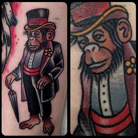 new school tattoo houston tattoo old school traditional ink monkey by matt