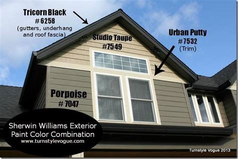 sherwin williams exterior paint color combination www turnstylevogue house paint ideas