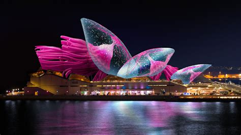 opera house sydney vivid lighting the sails at sydney opera house helloluxx