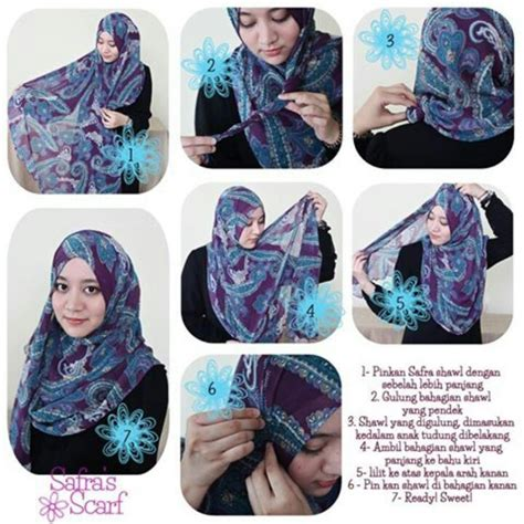 tutorial hijab pashmina headband tutorial hijab kreasi jilbab pashmina dengan headband