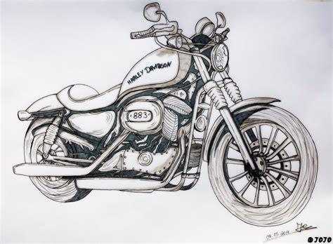 Kaos Anime Harley Davidson 00 harley davidson 883 by jojoasakura on deviantart