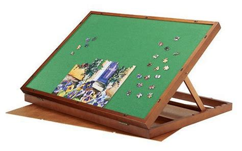 Jigsaw Puzzles Tables by Folding Jigsaw Puzzle Table Choozone