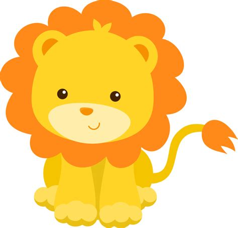 imagenes de leones animados bebes animales bebes tiernos animados para baby shower buscar