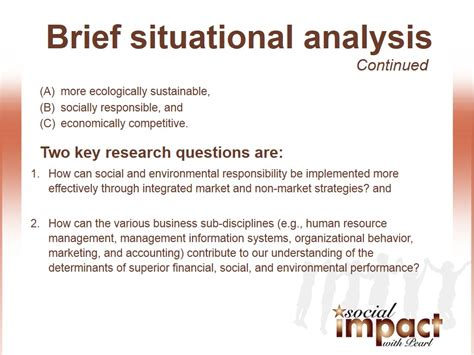 Analysis Briefformat Brief Analysis 2 Social Impact Tv With Pearl