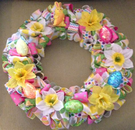how to make a spring wreath how to make a easter wreath my web value