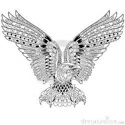 zentangle stylized eagle stock vector image 67964940