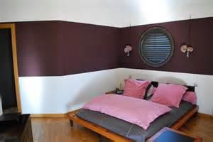 utiliser deux couleurs pour peindre sa chambre comment