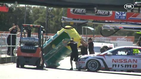 portable bathroom for cing portable toilet falls on michael caruso s nissan nismo race car video dpccars
