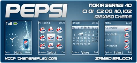 nokia 110 clock themes download pepsi theme for nokia 110 112 c1 01 c2 00 2690 128