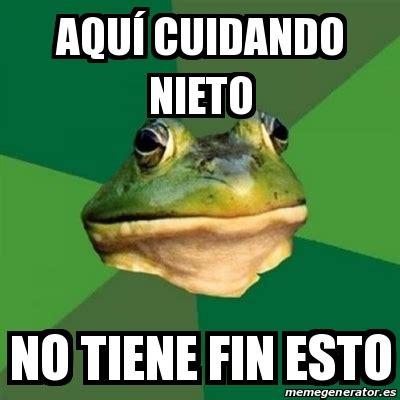 Foul Bachelor Frog Meme Generator - meme foul bachelor frog aqu 237 cuidando nieto no tiene fin
