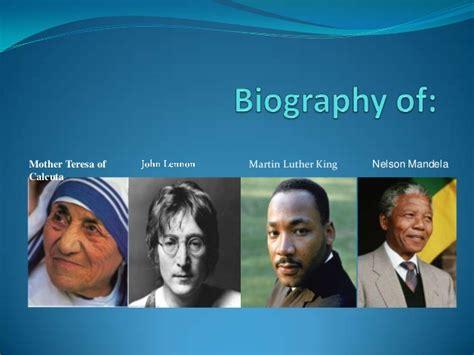 mother teresa biography powerpoint biography of final