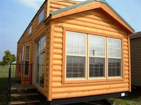 Log Cabin Style Homes by 2014 Cabin Cbt39 3 Cedar Log Cabin Park Model Rv Youtube