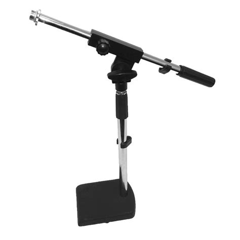 Seismic Audio Desk Microphone Mic Boom Stands New Drum Mic Desk Stand