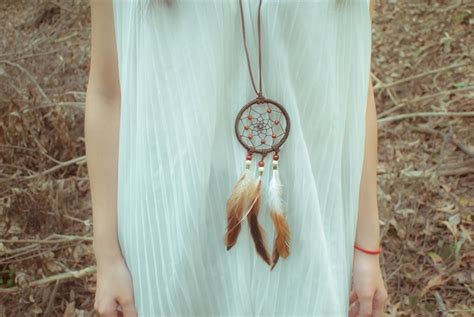 Handmade Dreamcatchers - noirlu handmade catcher necklace store