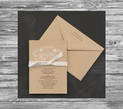 carlson craft wedding invitations cw print design