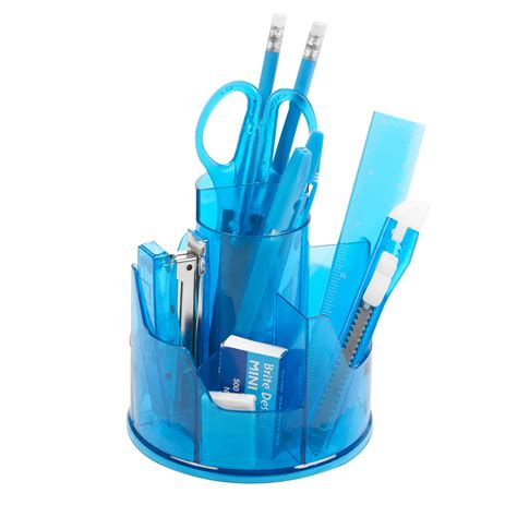 Stationery Desk Tidy by 13pc Office Stationery Organiser Set Rotating Desk Tidy