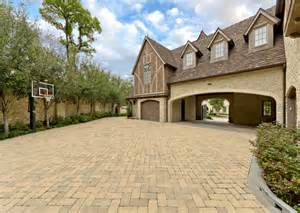 House Plans With Porte Cochere driveway pavers exterior traditional with front door entrance