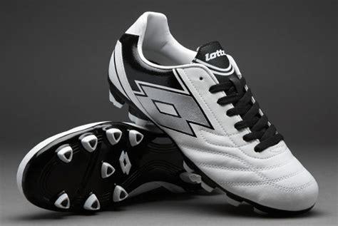 Sepatu Bola Termahal sepatu bola lotto spider ix fg white black