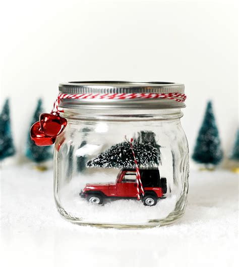 vintage jeep wrangler jar snow globe with vintage jeep wrangler